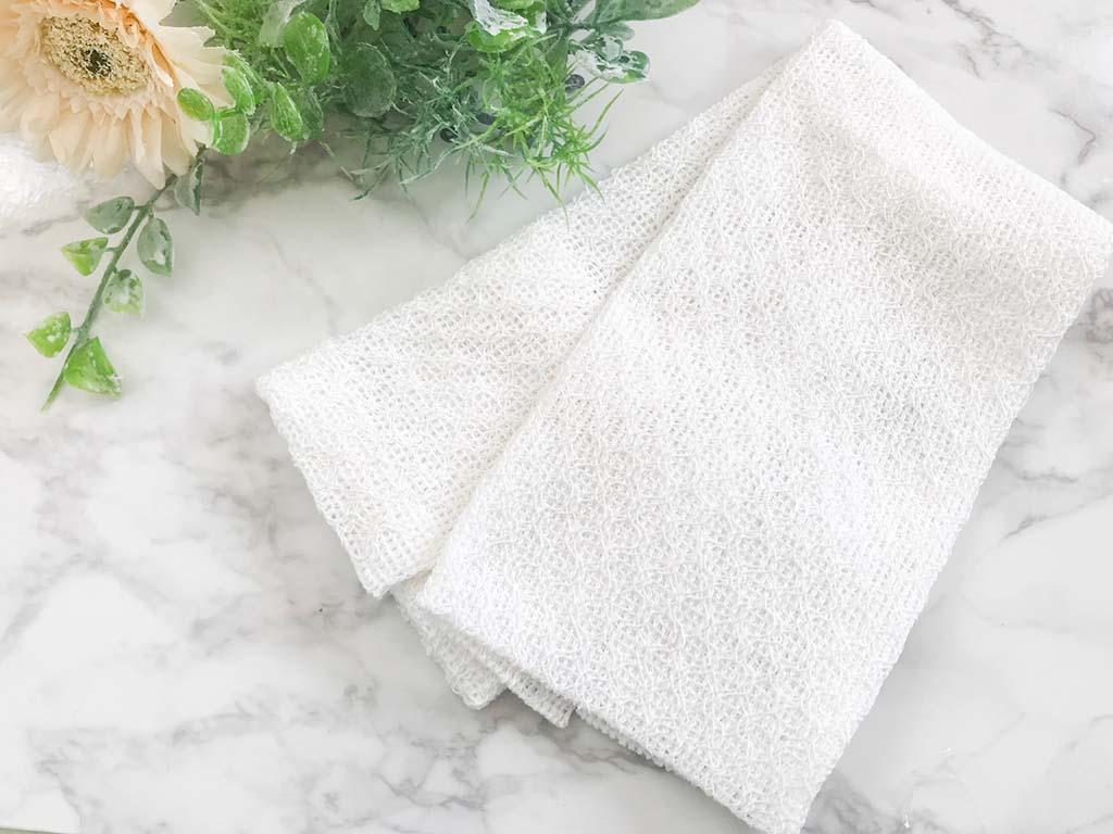 綿素材のタオル