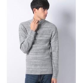 【27%OFF】 マルカワ セーター リブ 杢 ハーフジップ メンズ ミディアムグレー XL 【MARUKAWA】 【セール開催中】