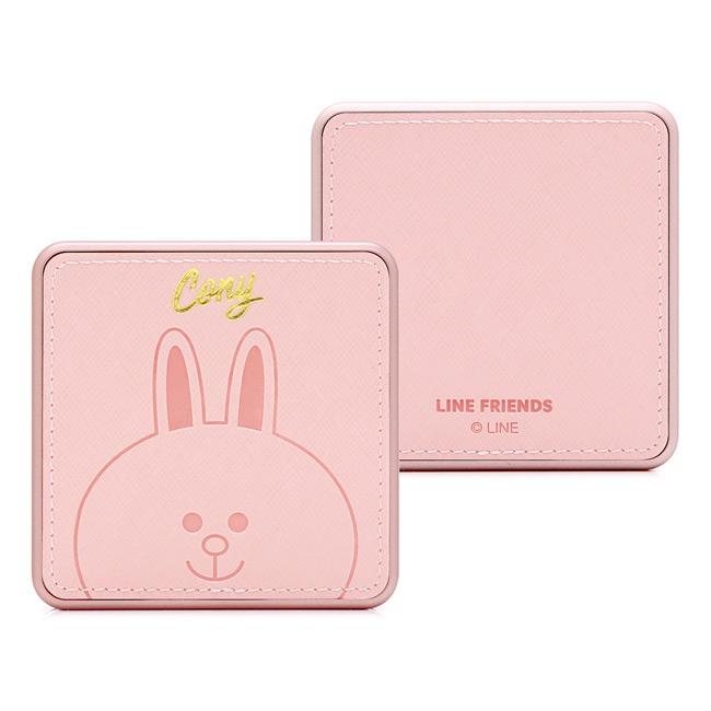 GARMMA LINE FRIENDS 燙金皮革行動電源 兔兔