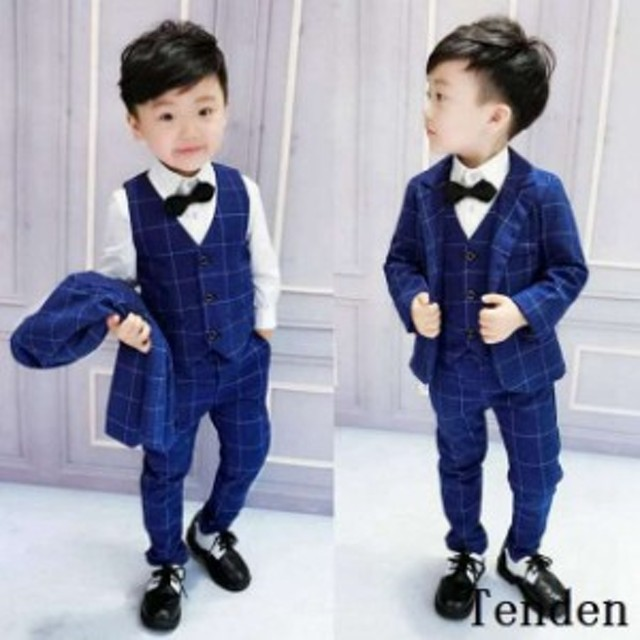 84da1aa0ffe38 男の子 スーツ フォーマル 子供 3点セット 入学式 七五三 発表会 男の子 男の子用スーツ