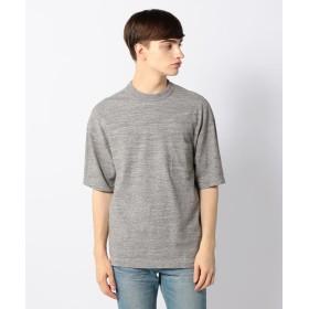 トゥモローランド 吊天竺 ビッグシルエット ポケットTシャツ メンズ 15グレー M 【TOMORROWLAND】