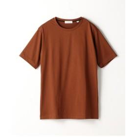 トゥモローランド スヴィンジャージー クルーネックTシャツ メンズ 47ブラウン XS 【TOMORROWLAND】