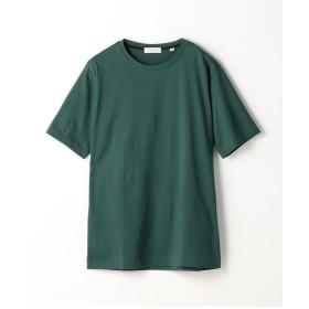 トゥモローランド スヴィンジャージー クルーネックTシャツ メンズ 55グリーン XS 【TOMORROWLAND】