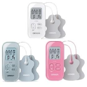 オムロン 低周波治療器 HV-F021 ホワイト/シルバー/ピンク