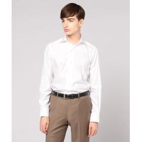 トゥモローランド 120/2フレンチツイル ワイドカラー ドレスシャツ NEW WIDE 5 メンズ 11ホワイト 42 【TOMORROWLAND】