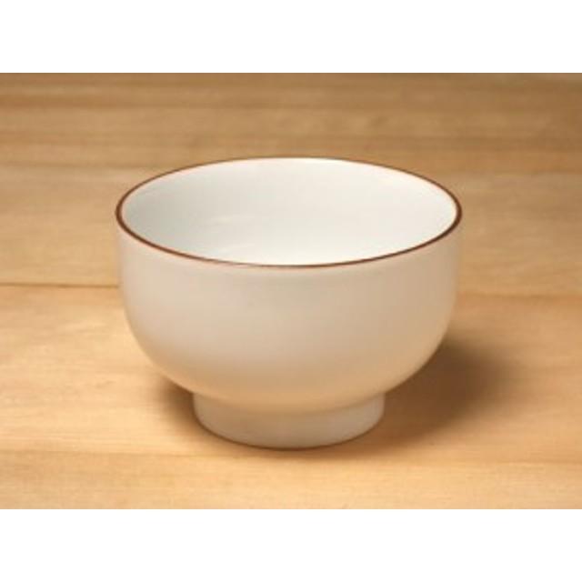 白山陶器 ベーシック お湯呑み 白マット(蓋なし)