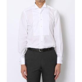 トゥモローランド 140/2コットンブロード ウィングカラー ドレスシャツ メンズ ホワイト 40 【TOMORROWLAND】