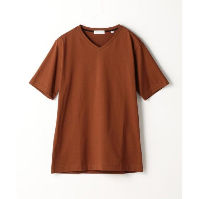 トゥモローランド スヴィンジャージー VネックTシャツ メンズ 47ブラウン L 【TOMORROWLAND】