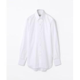 トゥモローランド 140/2コットンロイヤルオックスフォード ボタンダウン ドレスシャツ NEW BD 4 メンズ ホワイト 41 【TOMORROWLAND】
