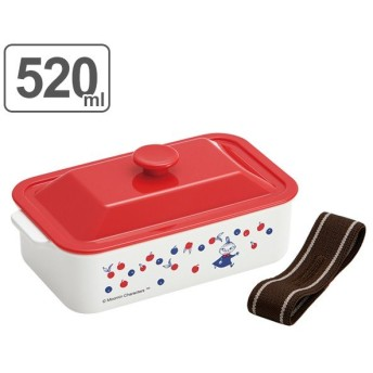 お弁当箱 ココット風ランチボックス ムーミン ミイ 520ml ( 弁当箱 食洗機対応 キャラクター )