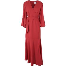 《期間限定セール開催中!》C/MEO COLLECTIVE レディース ロングワンピース&ドレス 赤茶色 XS ポリエステル 100%