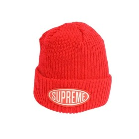 SUPREME(シュプリーム)18AW Oval Patch Beanie オーバルパッチロゴビーニー ニットキャップ b5d977879d1d
