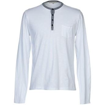 《9/20まで! 限定セール開催中》DIKTAT メンズ T シャツ ホワイト S コットン 100%