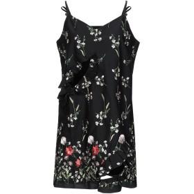 《セール開催中》MARQUES' ALMEIDA レディース ミニワンピース&ドレス ブラック XS コットン 63% / ポリエステル 37%