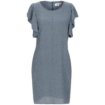 《セール開催中》DRY LAKE. レディース ミニワンピース&ドレス ブルー L ポリエステル 100%