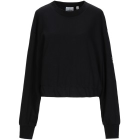 《セール開催中》CHEAP MONDAY レディース スウェットシャツ ブラック XS コットン 80% / ポリエステル 20% / ポリウレタン