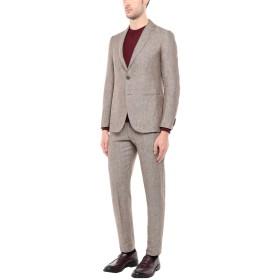《期間限定セール中》CARUSO メンズ スーツ ライトブラウン 50 100% 麻