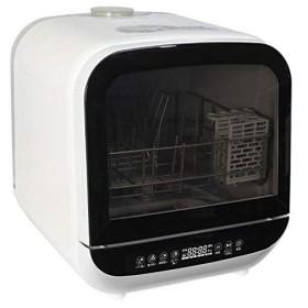 エスケイジャパン (食洗機)(SDW-J5L-W)ジェイム 工事不要 食器洗い乾燥機 2〜3人用 ホワイト(メール便・ラッピング不可)