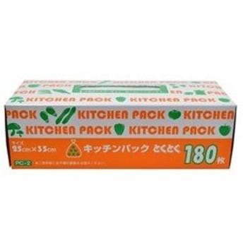 ケミカルジャパン とくとくキッチンパック 180P 半透明 PC2