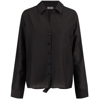 《セール開催中》L'AGENCE レディース シャツ ブラック XS コットン 80% / シルク 20%