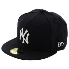 ニューエラ メンズ 野球 キャップ CAP キャップ ニューヨーク ヤンキース 5950NVY (11877051) : ネイビー NEW ERA