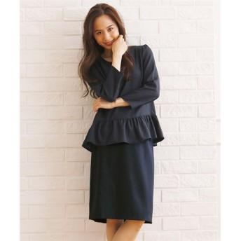 2点セット(裾フリルブラウス+スカート) (ブラウス),Blouses, Shirts