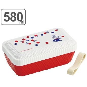 お弁当箱 ラタン風ランチボックス ムーミン ミイ 580ml 1段 ( 弁当箱 食洗機対応 キャラクター )