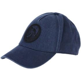 《期間限定 セール開催中》DIESEL メンズ 帽子 ダークブルー I コットン 100%