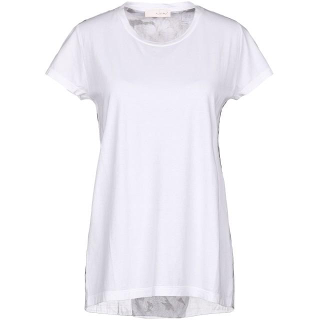 《セール開催中》ALMERIA レディース T シャツ ホワイト XS コットン 100%