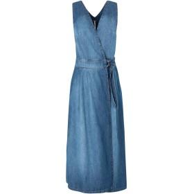 《送料無料》FREE PEOPLE レディース ジャンパースカート ブルー 2 コットン 100% KEEPING MY COOL DENIM