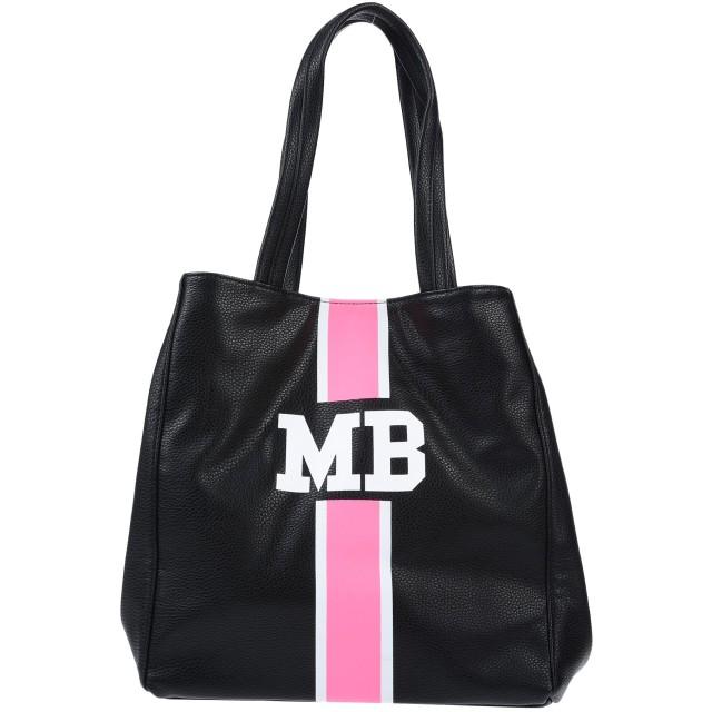 《セール開催中》MIA BAG レディース ハンドバッグ ブラック ポリウレタン 100%