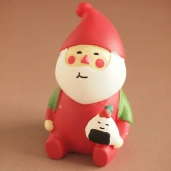 デコレ コンコンブル まったりマスコット クリスマス雑貨 冬太りサンタ メリーおむすび
