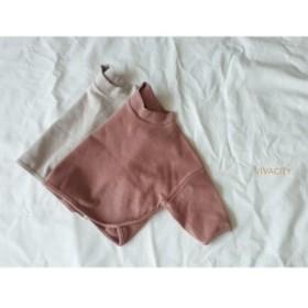 韓国子供服 ベビー キッズ オーバーサイズ長袖Tシャツ kz1811161