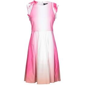 《期間限定セール開催中!》BYBLOS レディース ミニワンピース&ドレス フューシャ 40 コットン 96% / ポリウレタン 4%