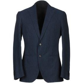 《期間限定セール中》CARUSO メンズ テーラードジャケット ダークブルー 46 コットン 97% / ナイロン 3%