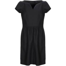 《セール開催中》BOUTIQUE MOSCHINO レディース ミニワンピース&ドレス ブラック 36 コットン 96% / 指定外繊維 4%