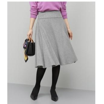 ROPE' / ロペ 【SS/S/Lサイズあり】フラノストレッチフレアスカート