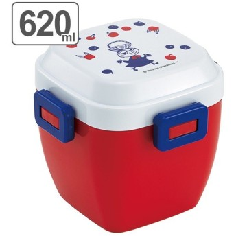 お弁当箱 4点ロック サラダランチボックス ムーミン ミイ ( 弁当箱 ランチボックス 電子レンジ対応 )
