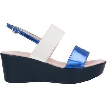 《9/20まで! 限定セール開催中》ANTEPRIMA レディース サンダル ブルー 39 革 / 紡績繊維