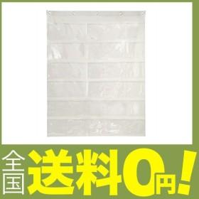 サキ ウォールポケット CD 15ポケット クリア W-173