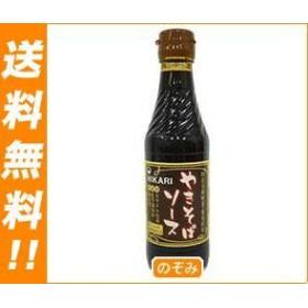 【送料無料】 光食品  国産有機野菜・果実使用  やきそばソース  290g瓶×12本入