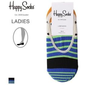 70%OFF【メール便(8)】 (ハッピーソックス)HAPPY SOCKS Stripe レディース フットカバー カバー ソックス 靴下 23-25.5cm
