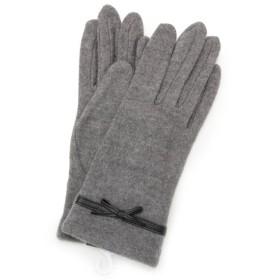 HusHusH / ハッシュアッシュ リボン付きジャージ手袋