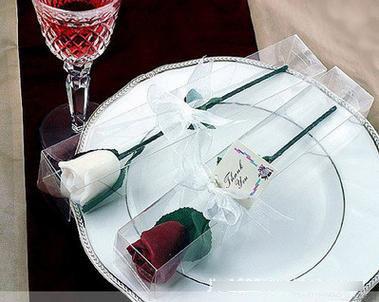 【婚禮回禮贈品-玫瑰花束蠟燭-5個-組】創意時尚婚慶用品 回禮結婚婚禮蠟燭 七夕情人節浪漫-726001