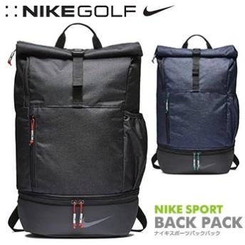 NIKE(ナイキゴルフ)日本正規品 スポーツ ゴルフ バックパック リュックサック 2018モデル 「BA5743」