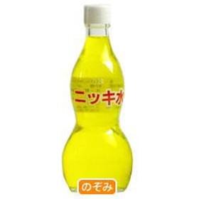 【送料無料】 大川食品工業  ニッキ水 (黄)  120ml瓶×30本入
