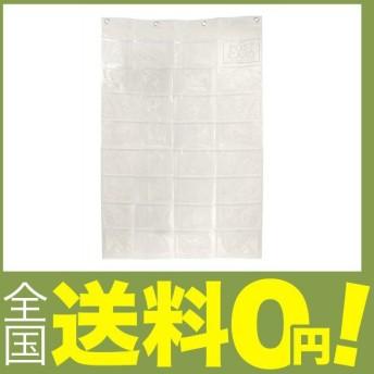 サキ(Saki) ウォールポケット クリア W66×H103.5cm(ポケットマチなし)