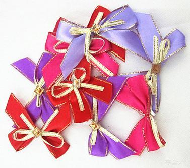 【婚禮回禮贈品-雙層帶鑽結-寬6x長5.5cm-300個-組】 喜糖盒 雙金邊手工帶鑽鐵盒配飾-726001