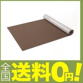 サンコー はっ水  消臭廊下敷きマット   カーペット マット おくだけ吸着 ロングマット 60×200cm ブラウン KH-67