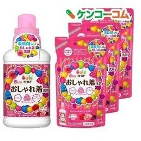 ボールド 香りのおしゃれ着洗剤 本体+つめかえ用3コセット ( 1セット )/ ボールド ( ボールド 詰め替え )